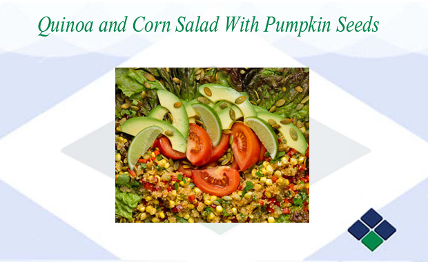 Healthy Recipe: Quinoa and Corn Salad With Pumpkin Seeds