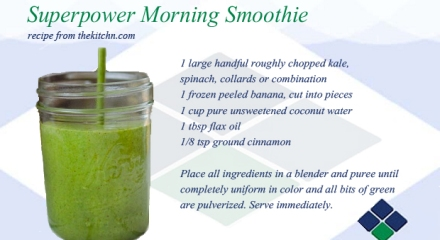 Superpower Morning Smoothie